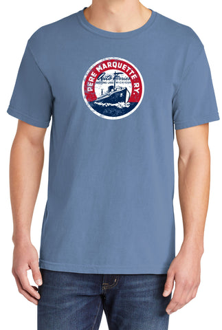 Pere Marquette Car Ferry Faded Logo Shirt