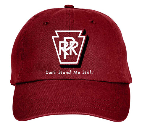 "Pennsylvania Railroad ""Don't Stand Me Still!"" Embroidered Cap"
