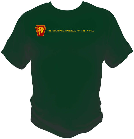 "Pennsylvania Railroad (PRR)  ""Standard Railroad of the World"" Shirt"