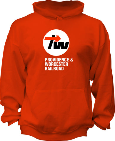 Providence & Worcester Freight Car Logo Hoodie
