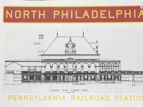 Pennsylvania Railroad Station Book