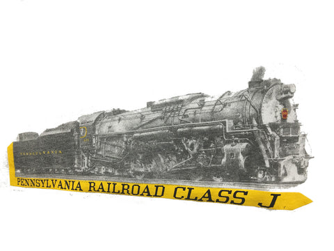Pennsylvania Railroad Class J Shirt
