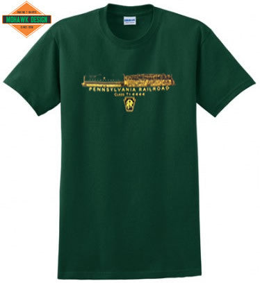 Pennsylvania Railroad Class T1 4-4-4-4 Shirt