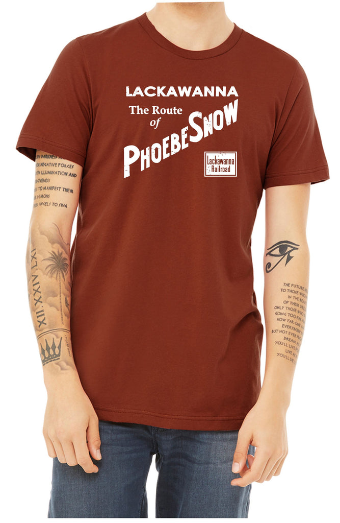 "Lackawanna ""Phoebe Snow"" Boxcar Faded Glory Shirt"