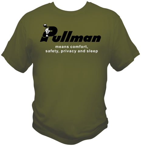 Pullman Sleeping Car Service Logo Shirt