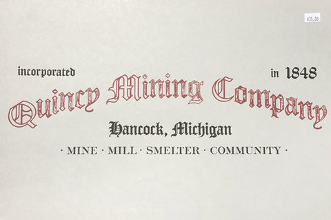 Quincy Mining Company Book