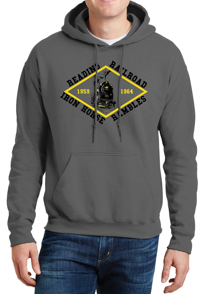 Reading Railroad Iron Horse Rambles Logo Hoodie