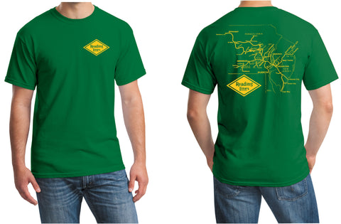 Reading Lines Map Logo Shirt