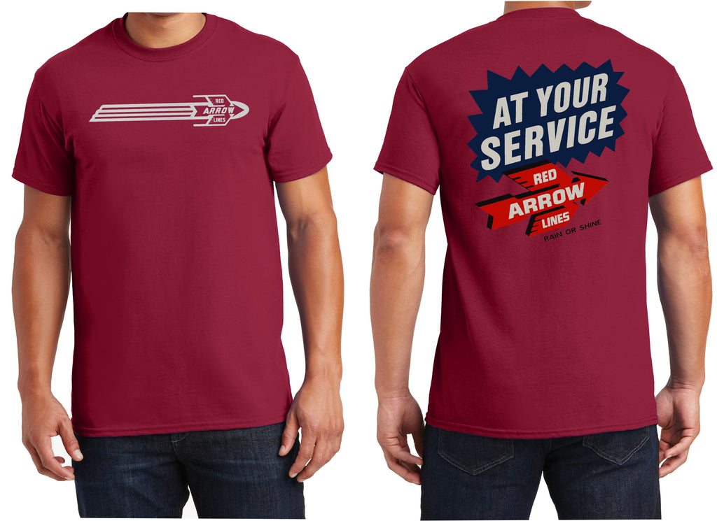 "Philadelphia Suburban Trans'n Co ""Red Arrow Line"" Logo Shirt"