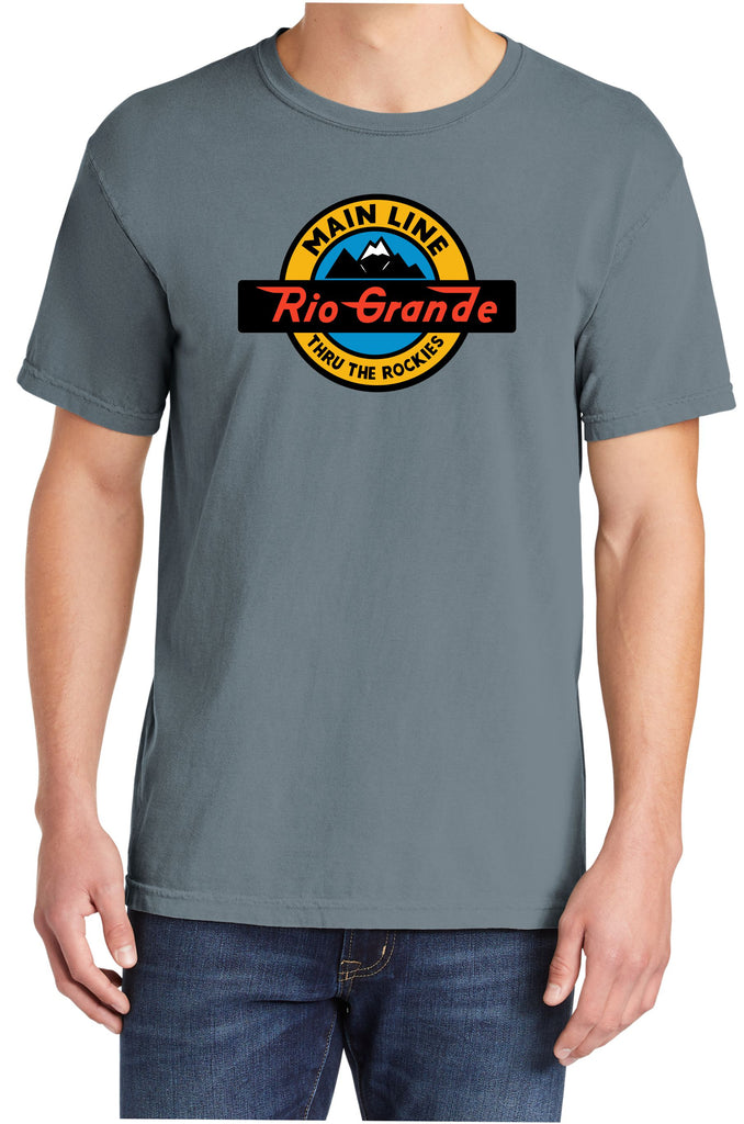 "Denver & Rio Grande""Thru the Rockies""Logo Shirt"