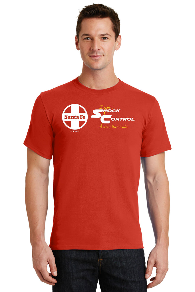 "Santa Fe Railroad ""Super Shock Control"" Logo Shirt"
