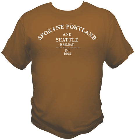 Spokane, Portland & Seattle Railway Faded Glory Shirt