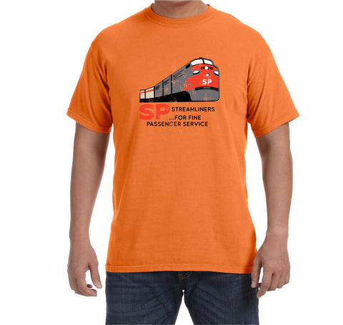 Southern Pacific Passenger Train Faded Glory Shirt