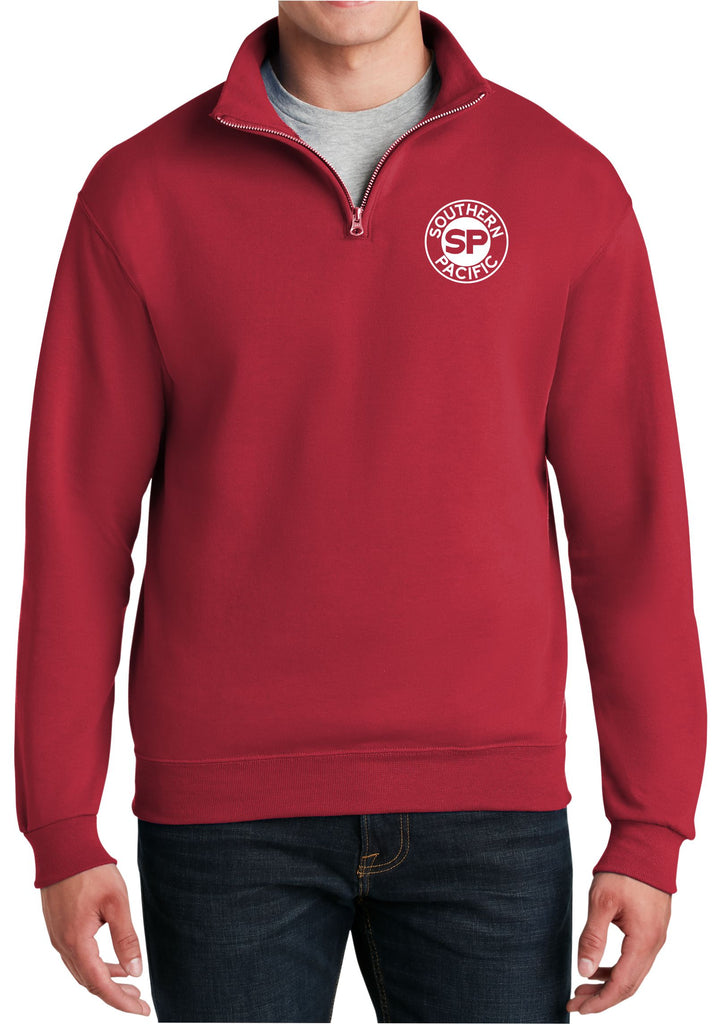 Southern Pacific Embroidered Cadet Collar Sweatshirt