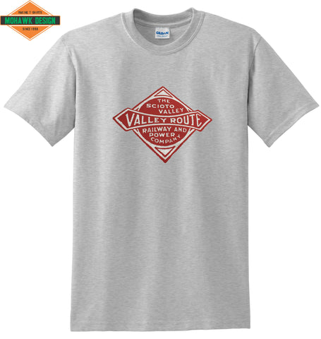 "Scioto Valley Railway & Power Company ""Valley Route"" Shirt"