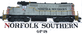 NS (Norfolk Southern) GP-18 Shirt