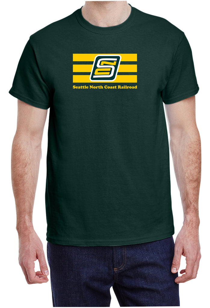 Seattle North Coast Railroad Logo Shirt
