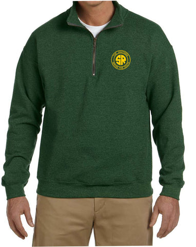 Southern Railway Logo  Embroidered Cadet Collar Sweatshirt
