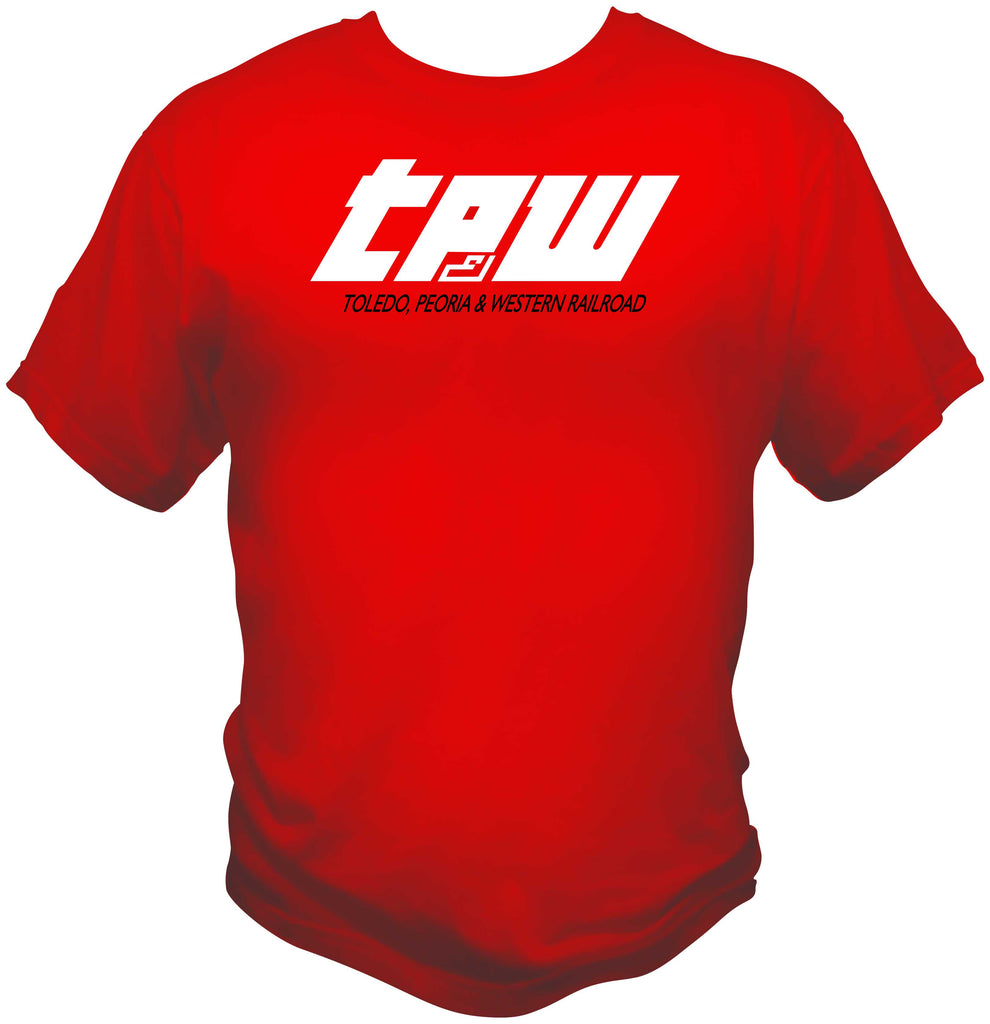 TP&W Speed Lettering Logo Shirt