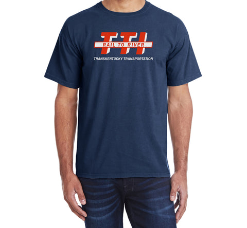 Transkentucky Transportation Railroad Logo Shirt