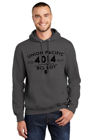 Union Pacific Big Boy 4014 Logo Hoodie
