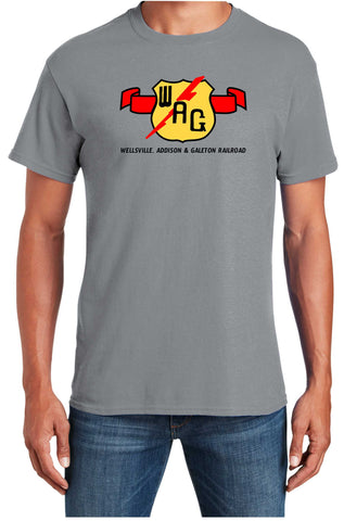 Wellsville, Addison and Galeton Railroad Logo Shirt