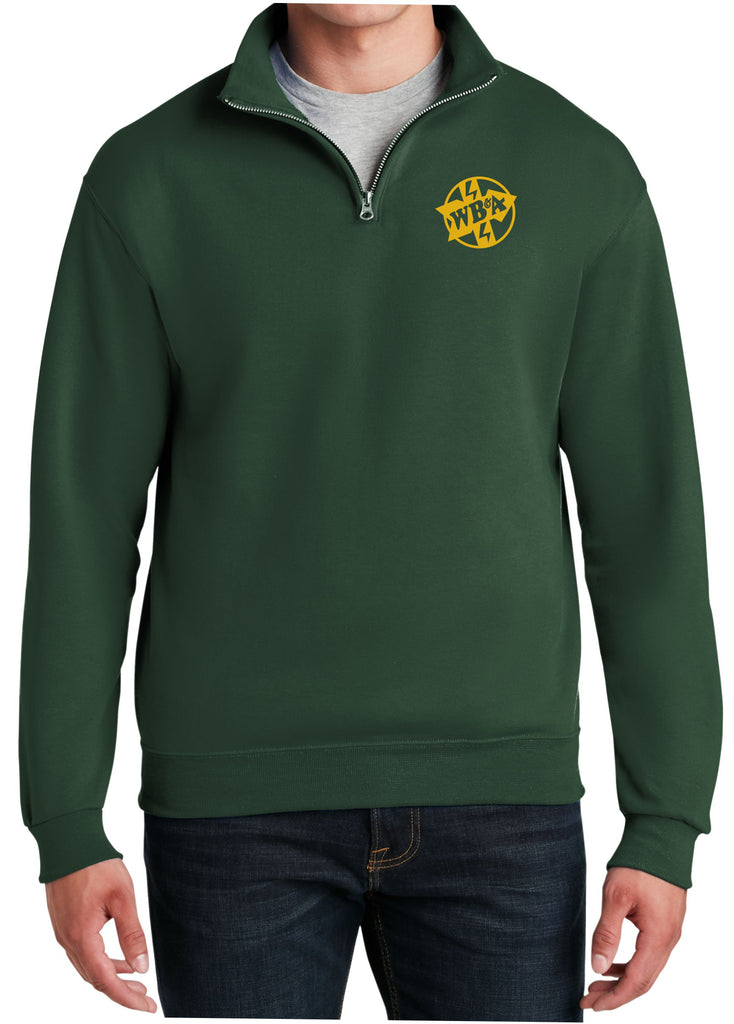 Washington Baltimore and Annapolis Electric Railway Logo Embroidered Cadet Collar Sweatshirt