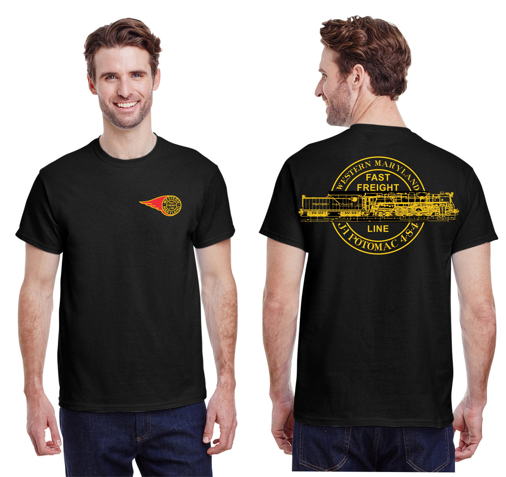 "Western Maryland Railway ""Potomac"" shirt"