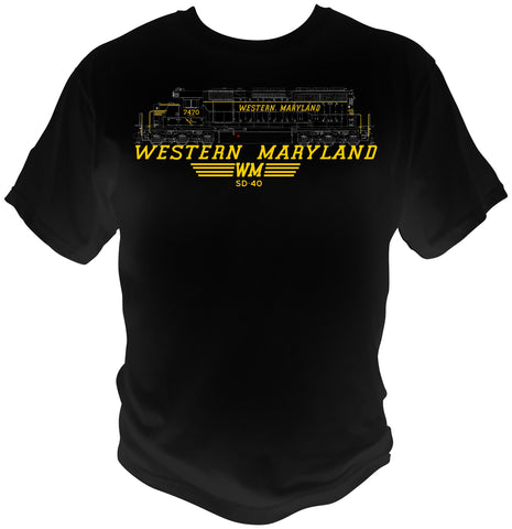 Western Maryland SD-40 Shirt