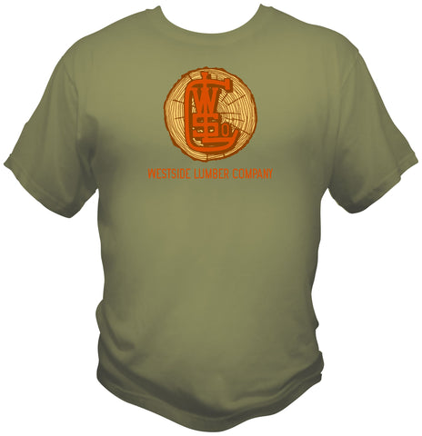 West Side Lumber Company Railroad Faded Glory Shirt