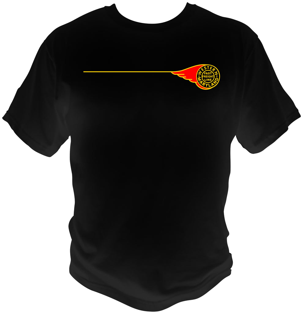 Western Maryland Fireball Logo Shirt