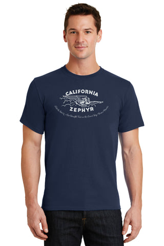 California Zephyr Logo Shirt
