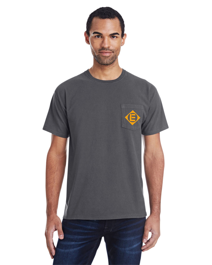 Erie Lackawanna Railroad Pocket Tee Faded Glory Shirt