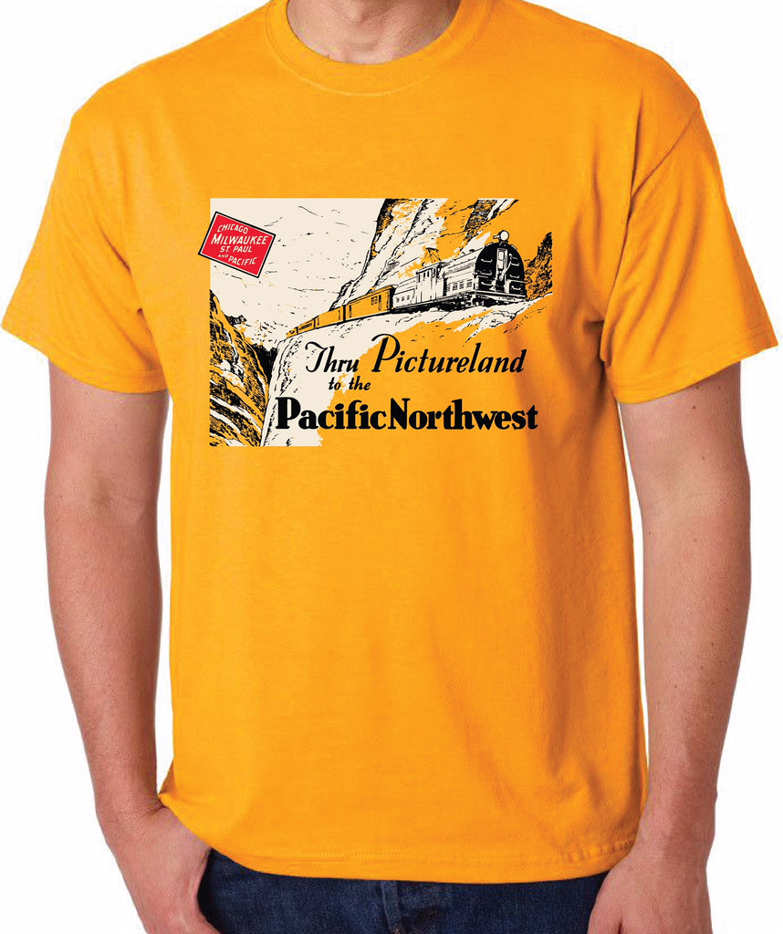 Milwaukee Road to the Pacific Northwest Shirt