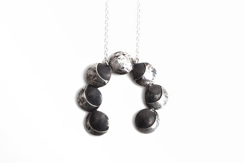 And The Moon Is Climbing High Necklace