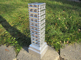 Metal stacking toy tower