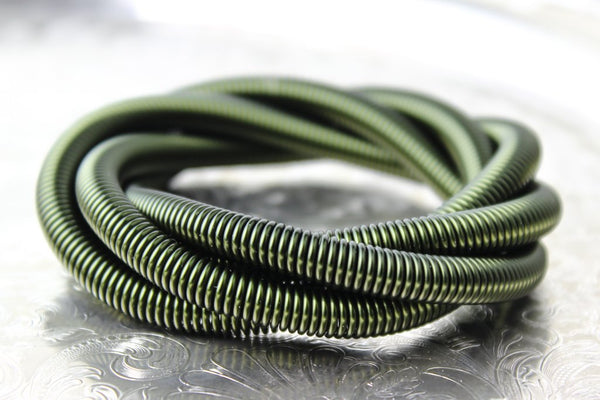 Olive Green Anodized Aluminum Jump Rings