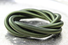 Green Anodized Aluminum Chainmail Coil