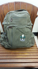 Jumbo Backpack, Vintage Canvas w/ BPSA Logo