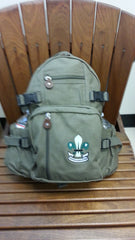 Compact Backpack, Vintage Canvas w/ BPSA Logo