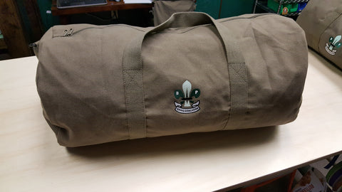 "24"" Duffle Bag, Canvas w/ BPSA Logo"