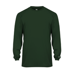 Youth Wicking Logo T - Long Sleeve
