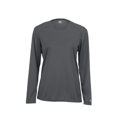 Ladies Wicking Logo T - Long Sleeve