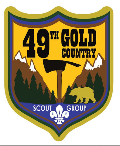 49th Gold Country Group Crest
