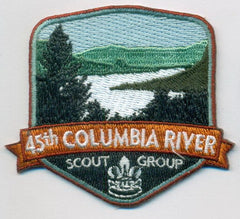 45th Columbia Group Crest