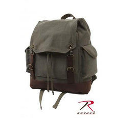 Expedition Rucksack, Vintage Canvas