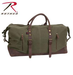 Extended Weekender Bag, Canvas w/ BPSA Logo