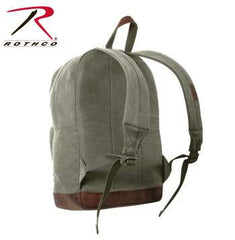 Teardrop Backpack, Vintage Canvas