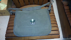 Paratrooper Shoulder Bag, Vintage Canvas w/ BPSA Logo
