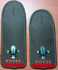 Trained Rover Knight Shoulder Board